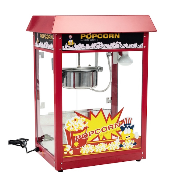 N/A – Popcornmaskine professionel 1600w 8 oz fra dagensbolig.dk