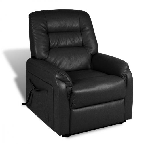 Otium lænestol med høj komfort sort   dagensbolig