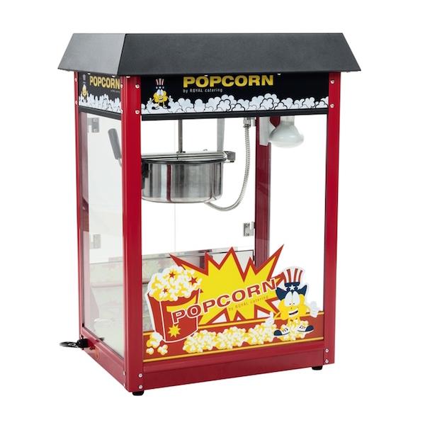 Popcornmaskine professionel 1600w 8 oz fra N/A fra dagensbolig.dk