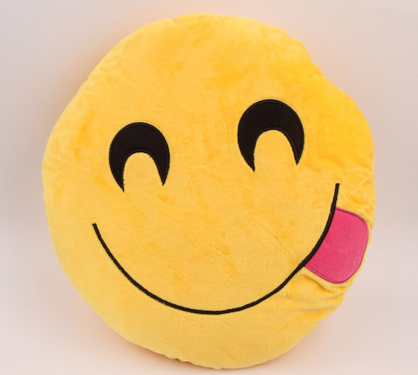 Image of   Emoji Smiley puder ( Licking)