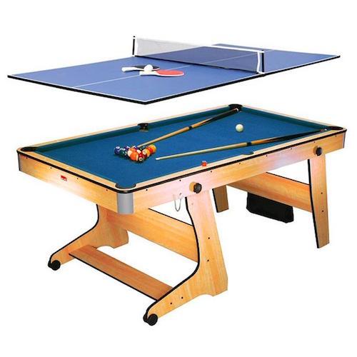N/A Pool og bordtennisbord foldbar fra dagensbolig.dk