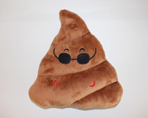 Image of   Emoji smiley puder ( Cool old Poop)