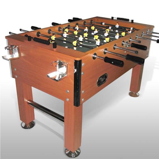 Image of   Bordfodbold de luxe mahogny finér