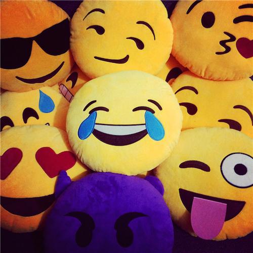 Image of   Emoji smiley puder (Cool)