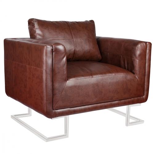 N/A Loungestol design wide brun fra dagensbolig.dk