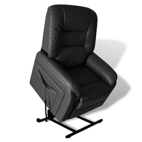 N/A Otium lænestol med høj komfort sort på dagensbolig.dk
