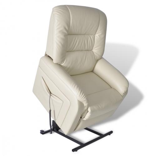 Otium lænestol med høj komfort cremefarvet fra N/A på dagensbolig.dk
