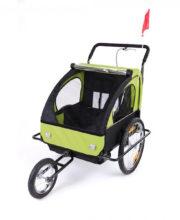 DB-Cykeltrailer Gron med sort ramme00