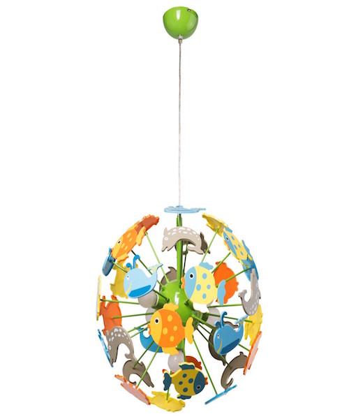 Image of   Loftslampe med fisk