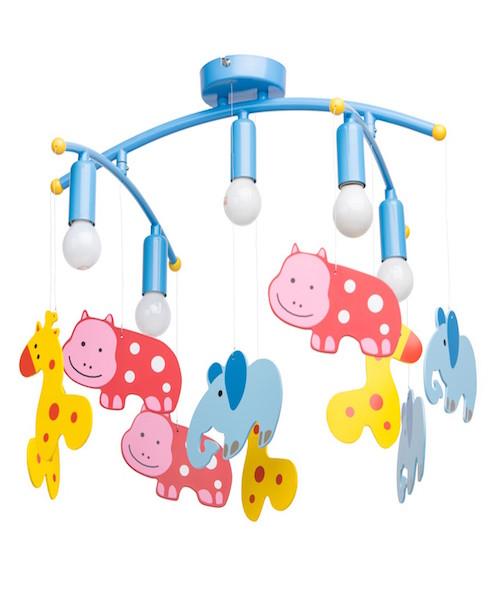 Image of   Loftslampe med dyr