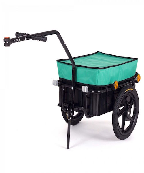 Image of   Cykeltrailer Samax grøn