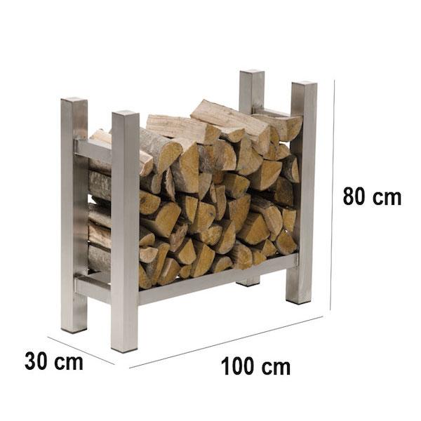 Image of   Brændereol model Medya V2 firkantet 30 x 100 x 80 cm
