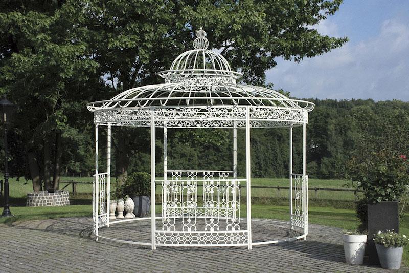 N/A – Have pavillon ø 500 cm hvid på dagensbolig.dk