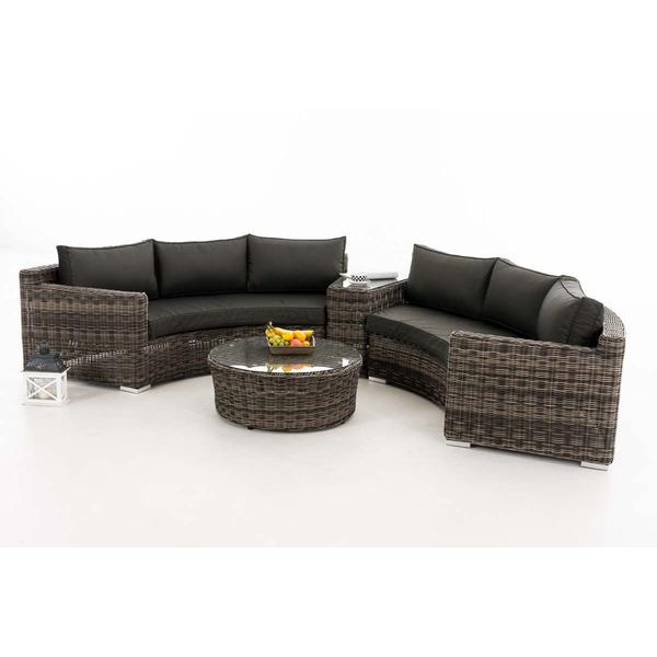 Luksus halvmåne loungesæt