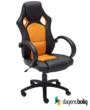 Gamer kontorstol Classic Orange:Sort PU_191071809_Dagensbolig