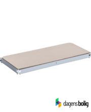 Løs hylde til Lagerreol metal Hvid 40x90