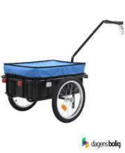 Cykelanhænger Trækvogn blå 60 liter_DagensBolig_91150