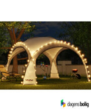 LED - Event pavillon - XXL - DomeShelter - Antracit - 1034207854a - dagensbolig_TITEL