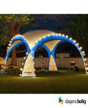 LED - Event pavillon - XXL - DomeShelter - Blå- 1034207854b - dagensbolig_TITEL