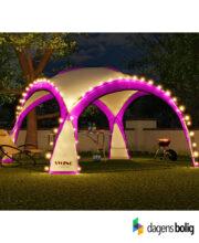 LED - Event pavillon - XXL - DomeShelter - Lyserød - 1034207854l - dagensbolig_TITEL
