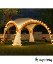 LED - Event pavillon - XXL - DomeShelter - Orange - 1034207854o - dagensbolig_TITEL