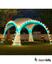 LED - Event pavillon - XXL - DomeShelter - Turkus - 1034207854t - dagensbolig_TITEL