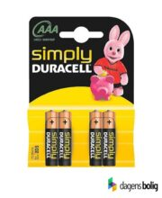 Duracell Simply Micro AAA 4stk_dagenbolig_TITEL